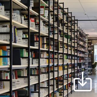 Innenaufnahme einer medizinischen Bücherei